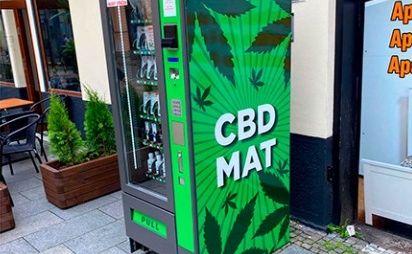 В Чехии коноплю начали продавать через автоматы на улице